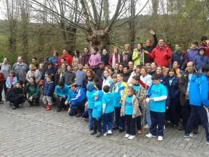 (28/03/14) Acampada grupo FAHYDA en El Bosque (Cádiz)