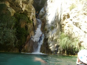 turismo activo - barranquismo rio verde