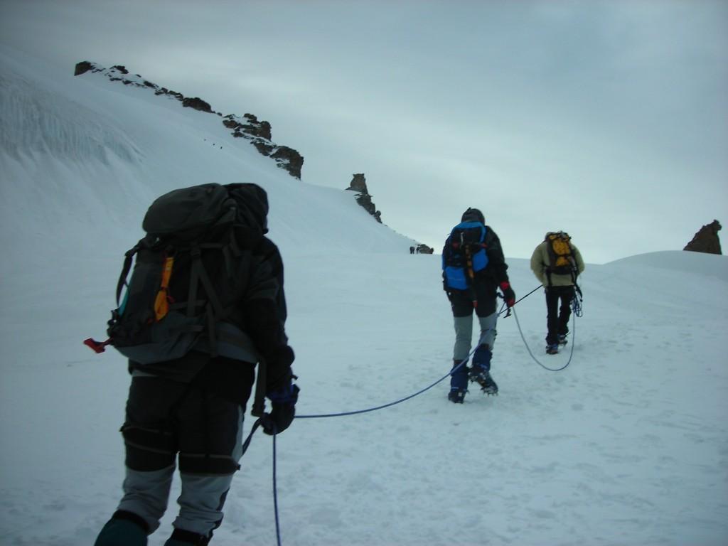 Ruta de alta montaña