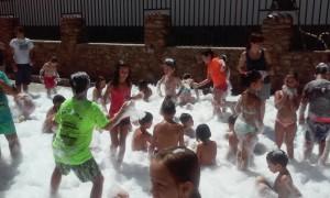 fiesta de la espuma en aldeire