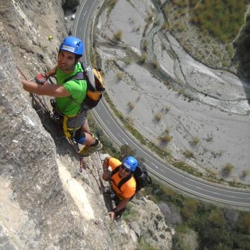 Vía Ferrata Los Vados – Ruta de escalada (Granada)
