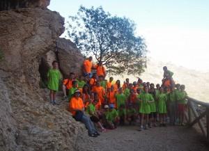 Campamento FAHYDA cazorda con niños con TDAH